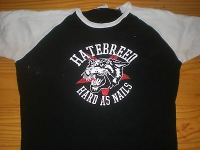 Hatebreed Hard as nails Girlie Shirt  Topzustand Größe L