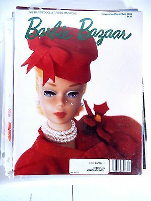 Barbie Doll Bazaar Collector's Magazine November/december 1989