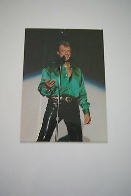 carte postale JOHNNY HALLYDAY N°40