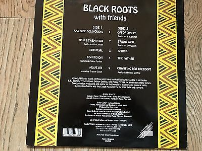 reggae roots  black roots lp