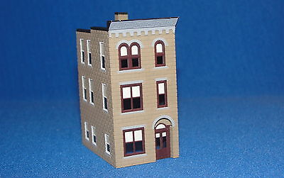 Built & Painted Townhouse #1 - Z Scale