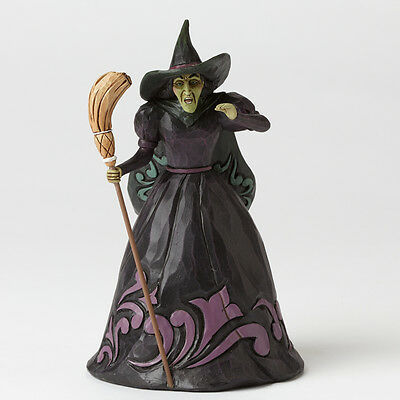 Jim Shore Wizard of Oz Pint Sized Wicked Witch Holding Broom Figurine 4044762