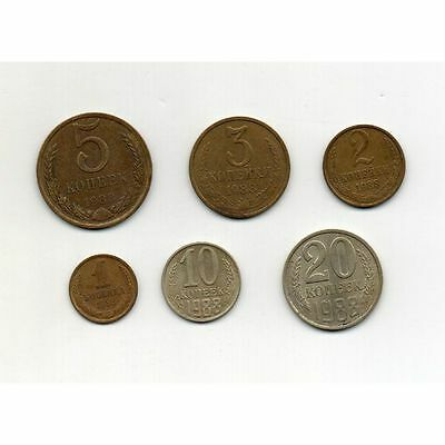 Russia (USSR) 1988 Coins Set