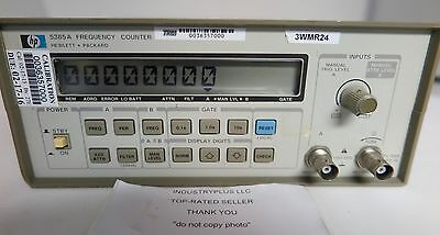 Hewlett Packard HP 5385A Frequency Counter Free Shipping