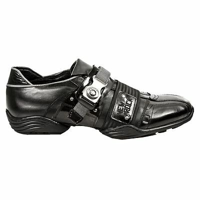 New Rock M.8147-S1 Normada Black Mens Shoes