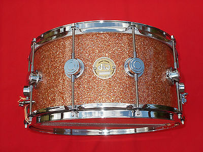 DW Drum Workshop Collector's Series 6.5x14 Champagne Glass Snare Drum