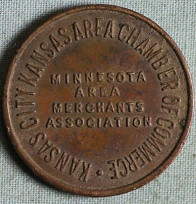 Kansas City Parking Token~Chamber of Commerce~Minnesota Area Merchants Associat.