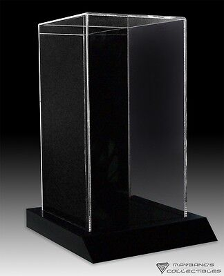 12 Inches 1/6 Figure Display Case Medicom Hot Toys Sideshow 17 x 9.5 x 9.5 Base