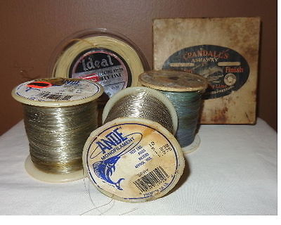 Vintage Monofilament and fly fishing line spools