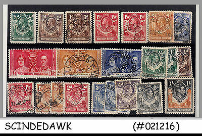 Northern Rhodesia - Mini Lot Of Stamps 22V - Used