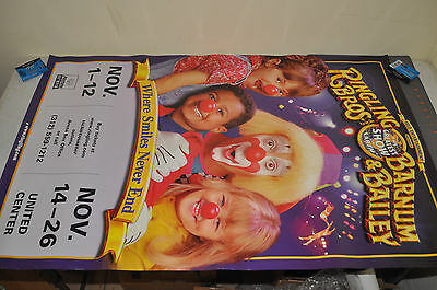 RINGLING BROTHERS AND BARNUM BAILEY CIRCUS POSTER 25x39 Real Advertisment #1