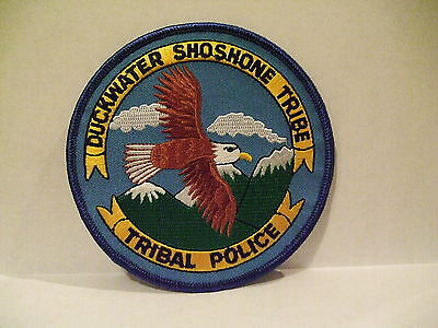 police patch  DUCKWATER SHOSHONE TRIBAL POLICE NEVADA