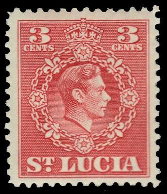 "ST. LUCIA 137 (SG148) - King George VI ""1949 Printing"" (pa17605)"