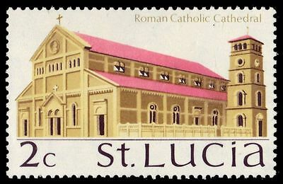 "ST. LUCIA 262 (SG277) - Heritage ""Roman Catholic Cathedral"" (pa28197)"