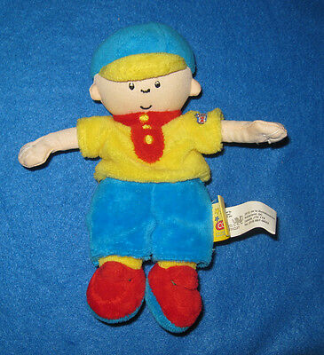 "Adorable 7"" Caillou Plush Doll - Very Soft 2012 PBS"