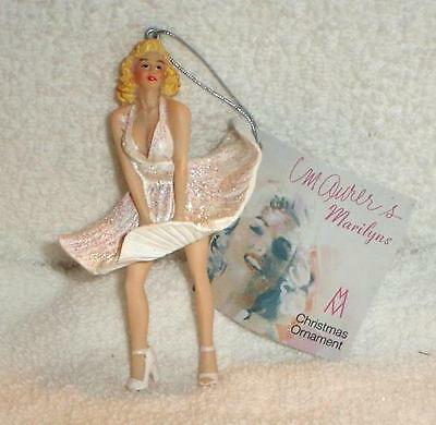 MARILYN MONROE FAMOUS DRESS BLOWING new CHRISTMAS ORNAMENT