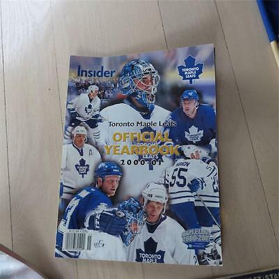 Toronto Maple Leafs Insider Official Yearbook  2000-01