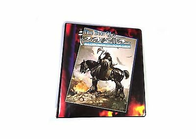 The Best of Frazetta All-Chromium Collector Cards Binder w/promo card 1996