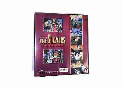 The Slayers Japanese Animation Collector Cards Binder Only Comic Images 2001