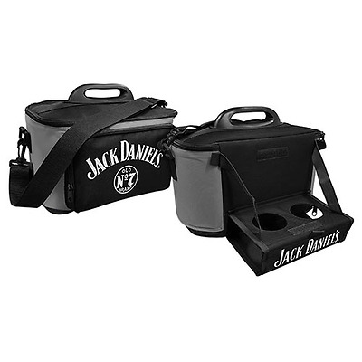 99843 Jack Daniel's Daniels Large Insulated Lunch Cooler Bag With Drinks Tray