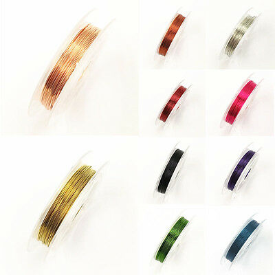 0.3mmx10m Copper Wire Beading Wire DIY Jewelry Making Cord/String