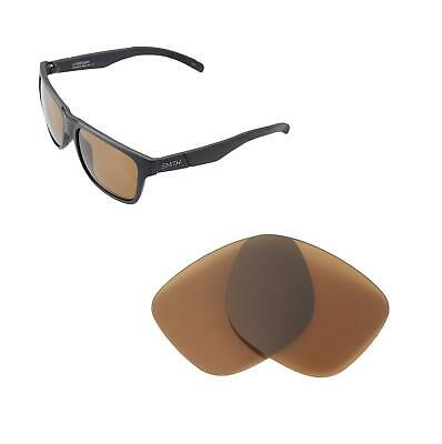 abaceea192 WALLEVA BROWN POLARIZED Replacement Lenses For Smith Parallel Max ...