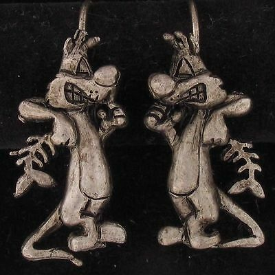 EARRINGS Sylvester The Cat WARNER BROS LOONEY TUNES Antique Pewter WB STORE 5120