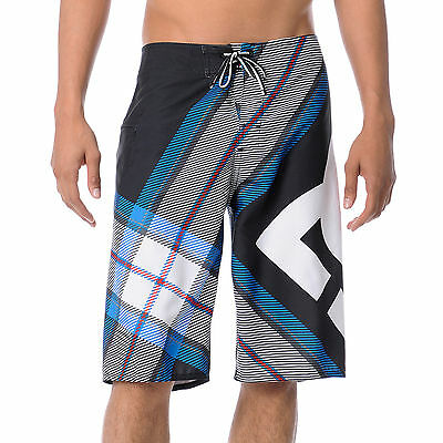 DC Mens Campaign 4 Way Stretch Board Shorts Swimmers size 38 Multi Print