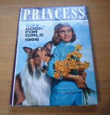Princess gift book for Girls 1966 annual  nice condition
