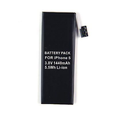 1440mAh Replacement  Battery for Apple iPhone 5 Only with Free Suction Tools