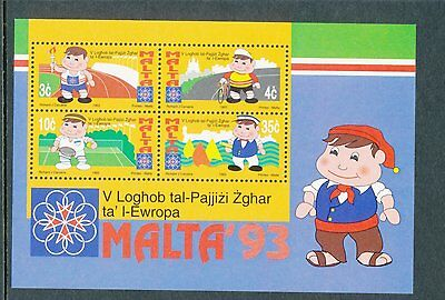 Malta 1993 Fifth Small States of Europe Games MS