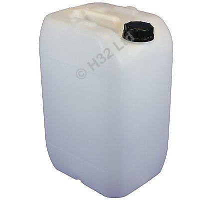 25L Litre Water Container Drum & Air Tight Cap Food Grade