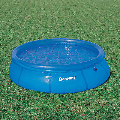 Bestway Solar Fast Set Pool Covers 8Ft 10Ft 12Ft 15Ft