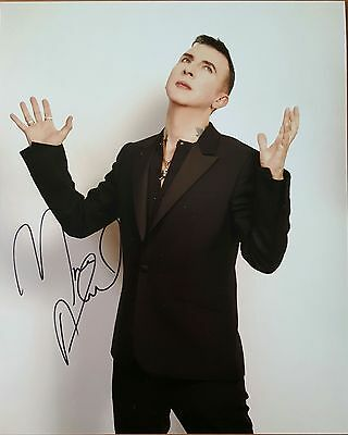 Marc Almond - Soft Cell - Hand Signed 10x8 Photograph + COA (PROOF)