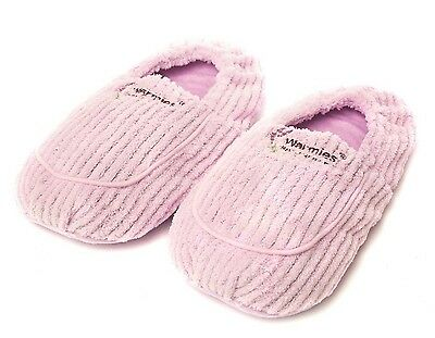 Intelex Warmies Lavender Spa Therapy Microwavable Lilac Slippers Feet Warmer