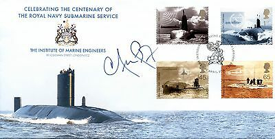 Submarines fdc 2004 SIGNED Iain Duncan Smith