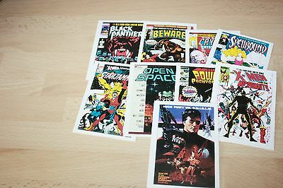 Old Trading Card From 1991 Marvel Comic Covers