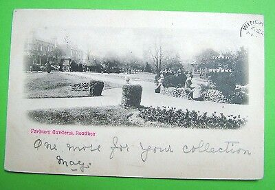 Forbury Gardens, Reading -  c1904