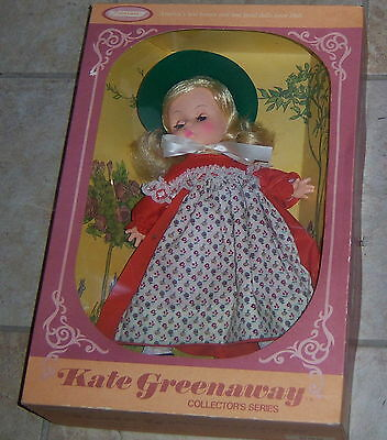 """Kate Greenaway Collector's Series 12"""" Doll by Horsman 1972 NRFB MIB Mint in Box"""