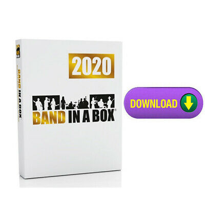 PG Music Band in a Box Pro 2019 PC Composition  Software - Digital