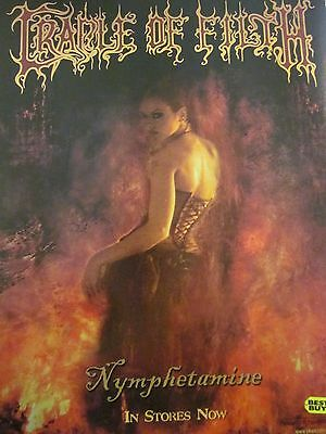 Cradle of Filth, Nymphetamine, Full Page Promotional Ad