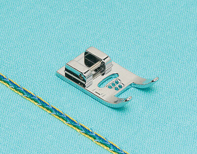 7 HOLE CORDING FOOT FOR SEWING MACHINES STANDARD SNAP-ON/ CLIP ON   a/132