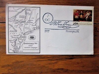 Revolutionary War Northern Campaign Battlefields Map 1777 1977 Cover