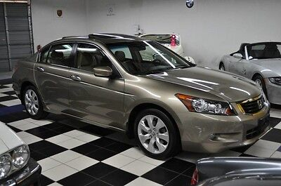 2008 Honda Accord EX-L  ONLY 38K MILES - LIKE BRAND NEW - LEATHER LIKE A NEW CAR - EX-L EDITION - LEATHER - SUNROOF - GORGEOUS COLORS