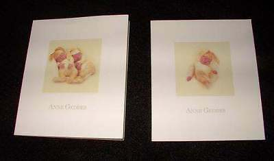 NEW ANNE Geddes BABY SHOWER INVITATIONS (2) BOX OF 12 Rare Unisex