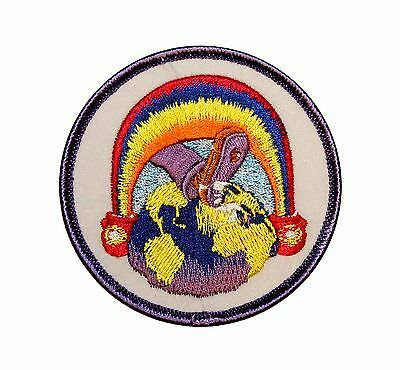 Grateful Dead Rainbow Foot Rock Music Band Iron On Applique Patch p1802