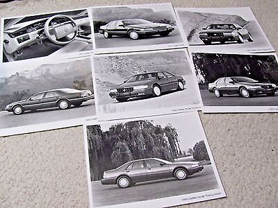1992 Cadillac Seville Press Photos (7 Different) !!