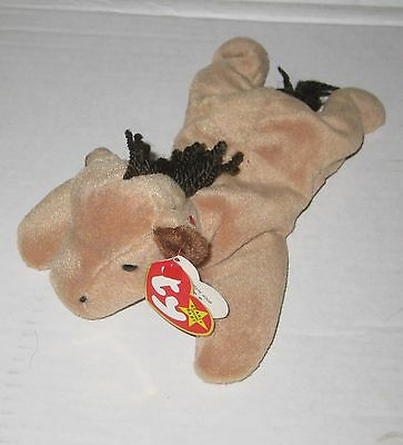 """1995 Ty Beanie Babies  """"Derby""""  #4008 DOB 09/16/95 With tags mint"""