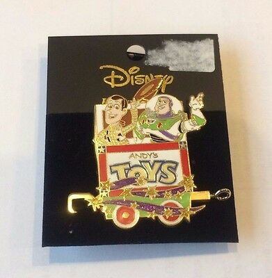 Character Train Collection - Mystery Tin 2 Pin Set (Buzz Lightyear & Woody)