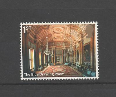 The Blue Drawing Room/buckingham Palace/gb 2014 Um Mint Stamp
